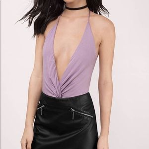 Low cut bodysuit